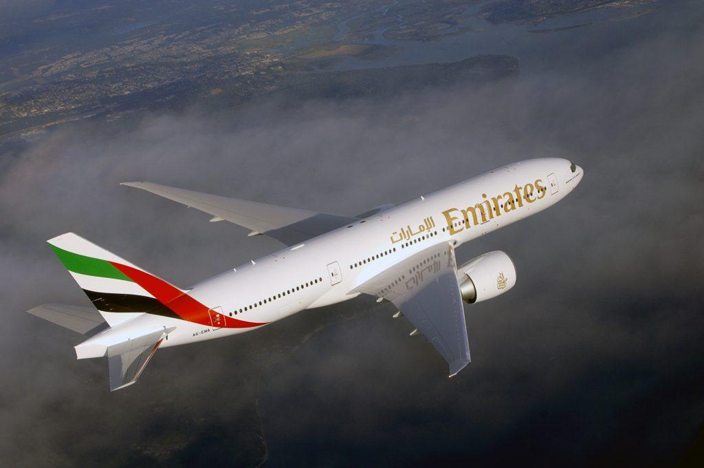 An Emirates plane © Emirates