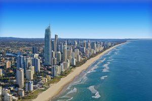Surfers Paradise in the Gold Coast Australia
