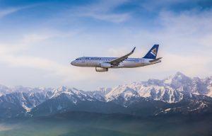 Air Astana A320.