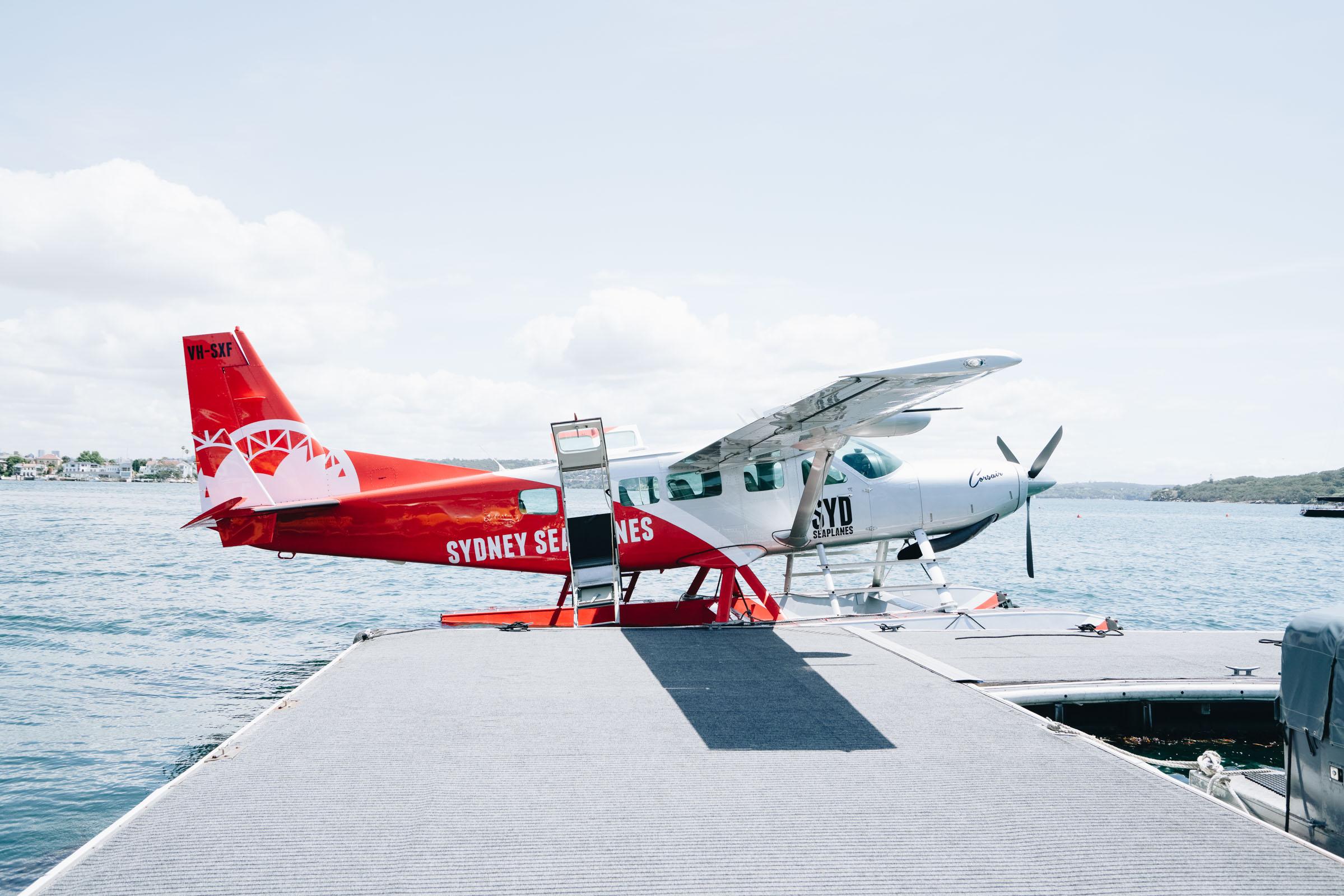 Rose Bay's Sydney Seaplane pontoon