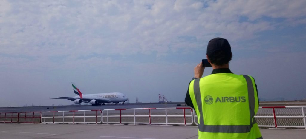 Emirate's A380 back to the sky and landed in Asia since the pandemic