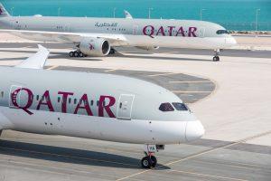 Qatar Planes on Tarmac © Qatar Airways