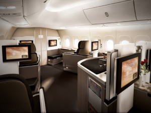 Lufthansa's Premium First Class Cabin