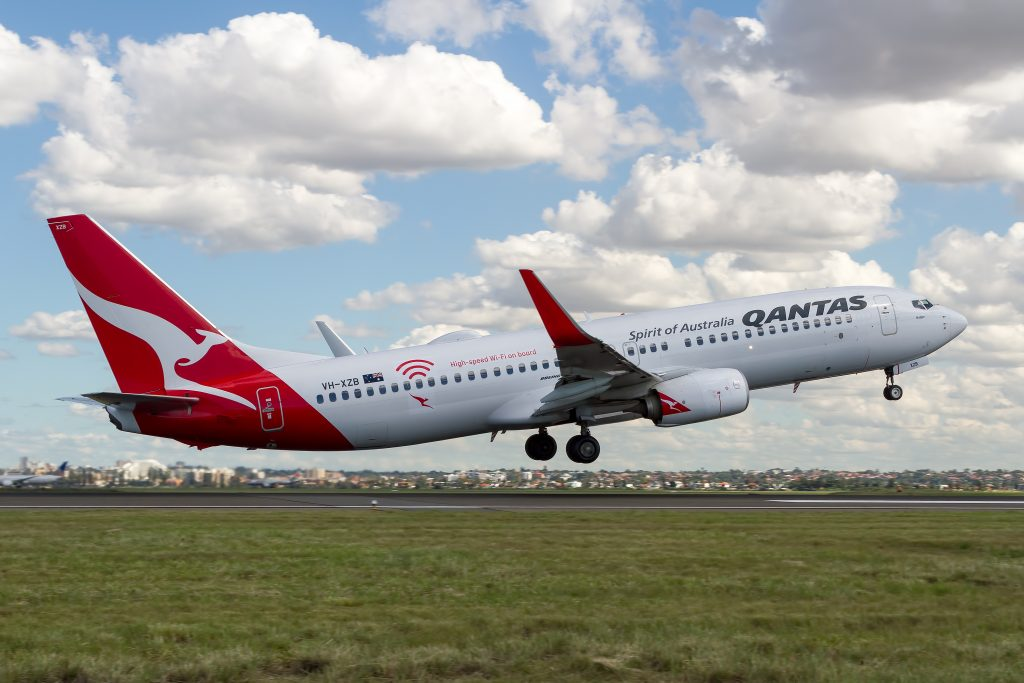 Australia's Flag Carrier Qantas Airline will increase flights to New Zealand