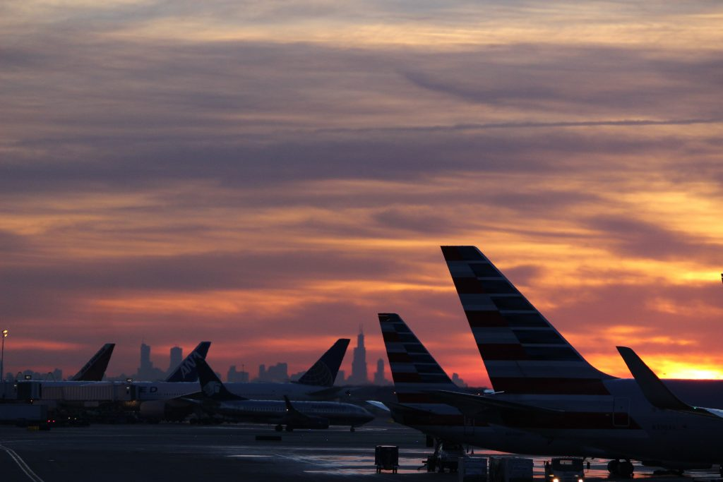 AA tails at sunset. Photo by Austin Tiffany