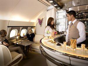 Emirates' Premium Onboard Bar