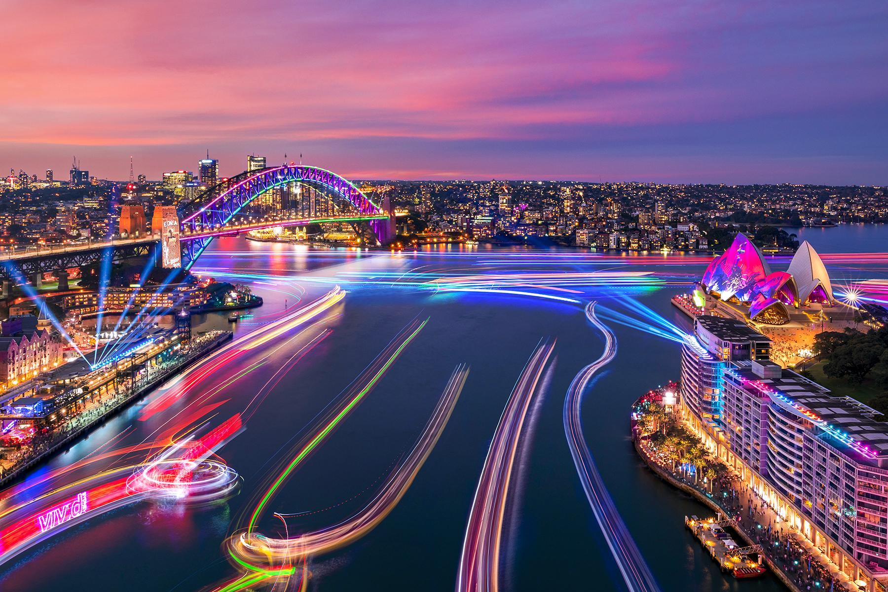 Vivid Sydney 2019 2021 Sydney Australia