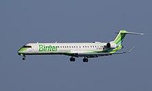 A Binter Canarias Aircraft