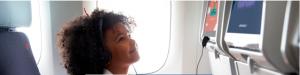 Child flying unaccompanied
