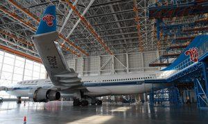 CSAIR's Maintenace Hangar on the Inside