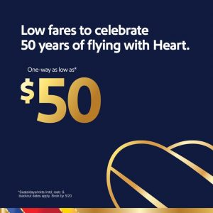 Southwest Airlines' Birthday offer