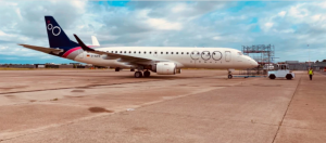 EGO Airways Embraer 190 Aircraft. Image By EGO Airways.