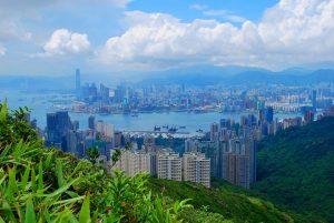 Hong Kong's Cityscape