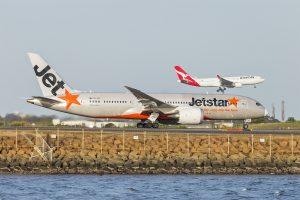 Jetstar Airways (VH-VKG) Boeing 787-8 Dreamliner at Sydney Airport