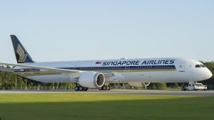 Singapore Airlines Boeing 787 10. Image Supplied By Singapore Airlines.