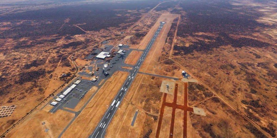 Alice Springs airport in 2018