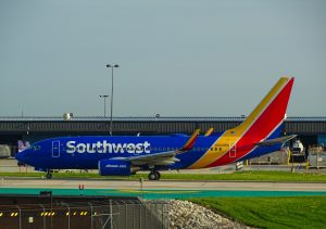 Southwest B737 taxiing. Photo by Miguel Ángel Sanz