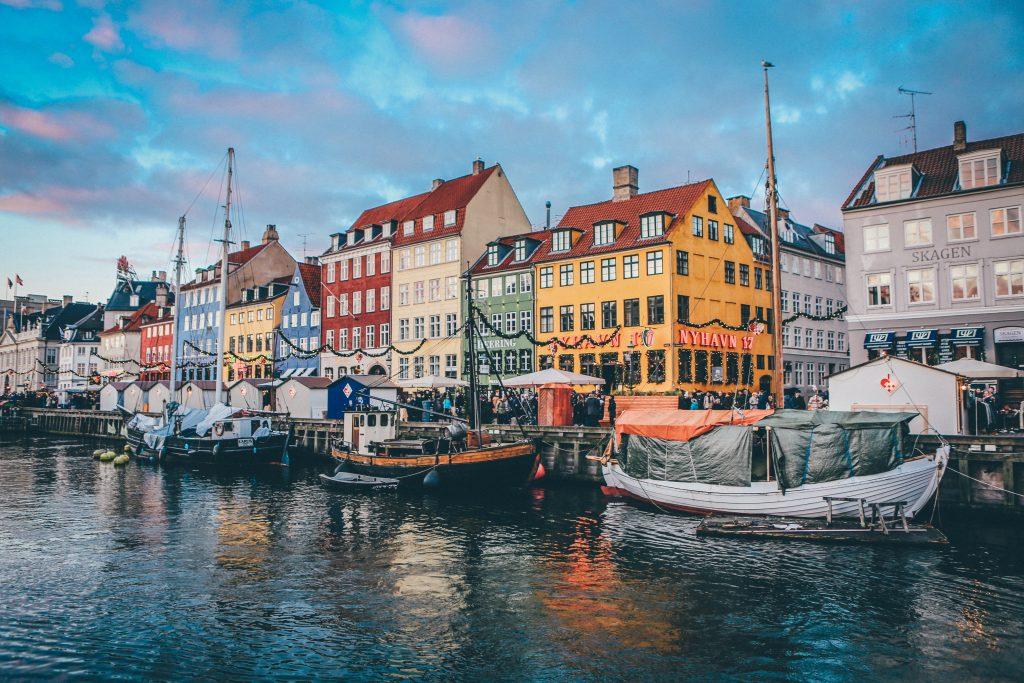 Denmark travel yellow