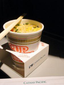 A Nissin Cup Noodle
