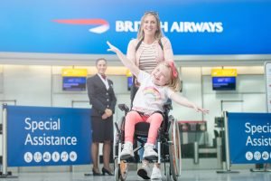 Special assistance for wheelchair access