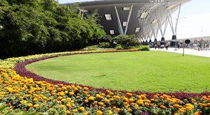 Glorious Green Effect | © Kempegowda International Airport