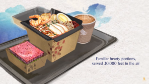 Singapore Airlines' South-east Asian inspired meals