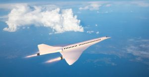 Hypersonic aircraft artist impression flying at record speed