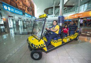 Dubai Electric Cart