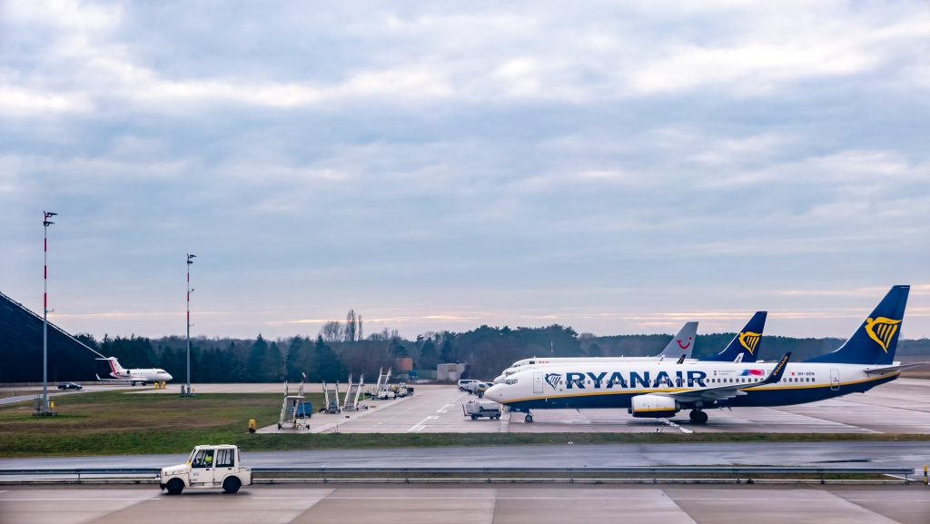 Ryanair planes at stand. Photo by Sangga Rima Roman Selia