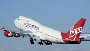 virgin atlantic taken off