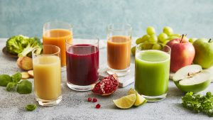 Emirates' new selection of juices