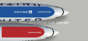 More premium seats compared to other U.S. carriers