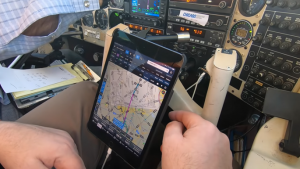 flying with the iPad as a pilot
