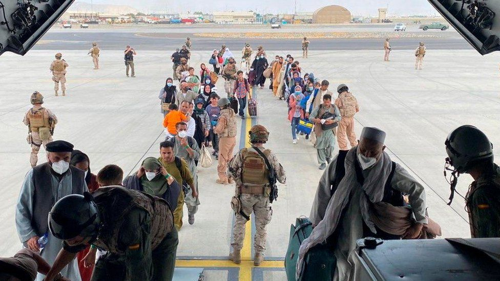 At least 15 countries have sent military planes to Kabul airport with countries offering assistance to those with high-risk citizens trapped inside Afghanistan