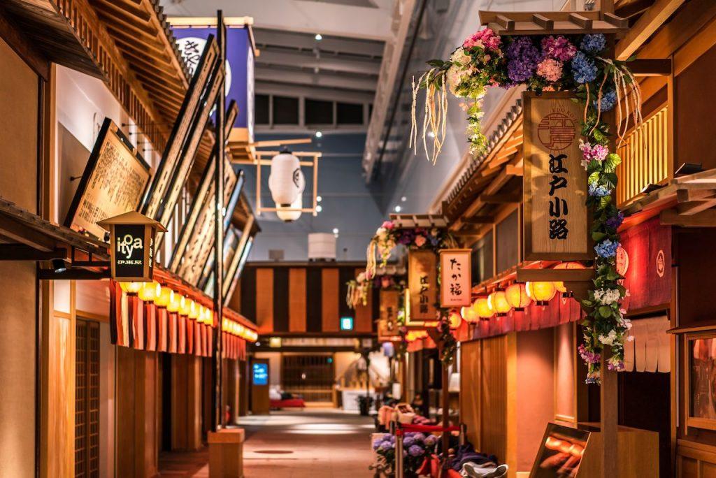 Edo Market Place, Japan Haneda International Airport, Best Airport Terminal
