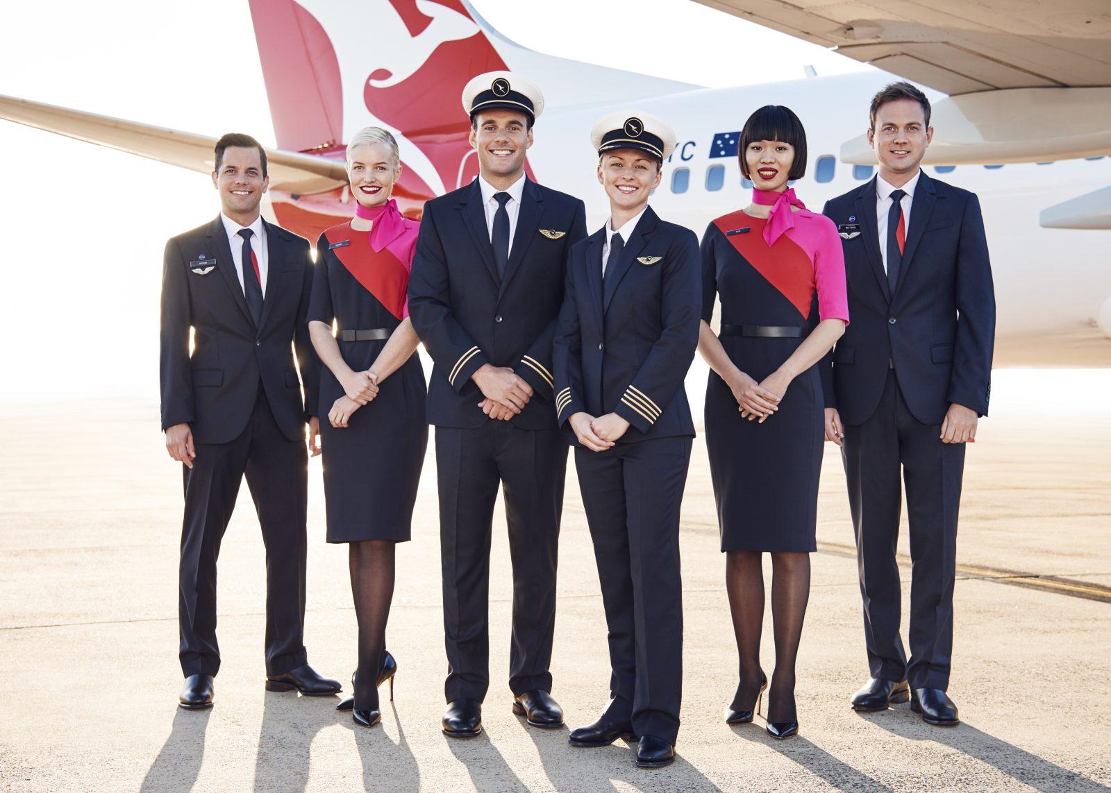 To show Qantas crew
