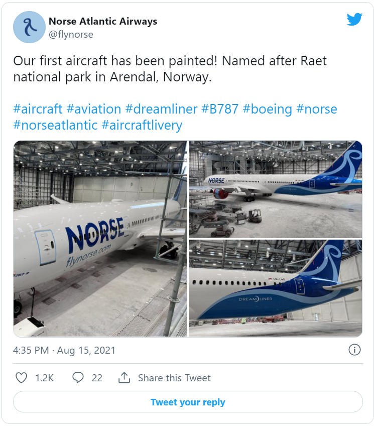 Norse Livery Twitter