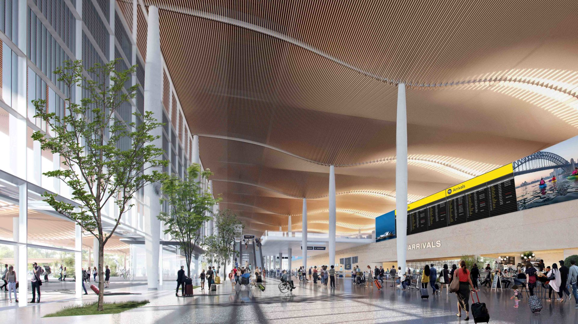 Sustainability is at the centre of all innovative initiatives at Western Sydney Airport