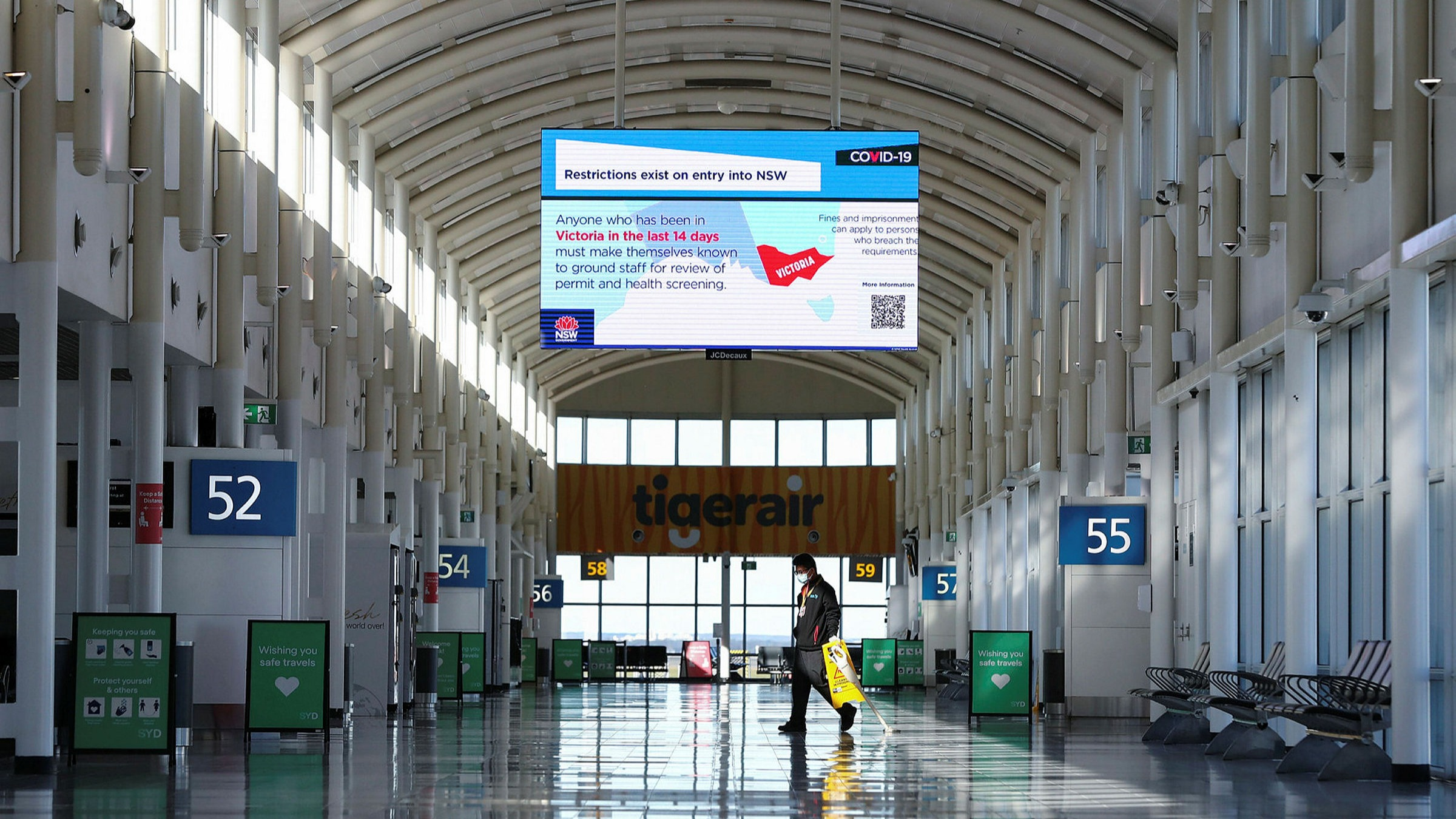 Airport terminals may soon start resembling transport hubs once again with the possibly of travel as early as November 5th