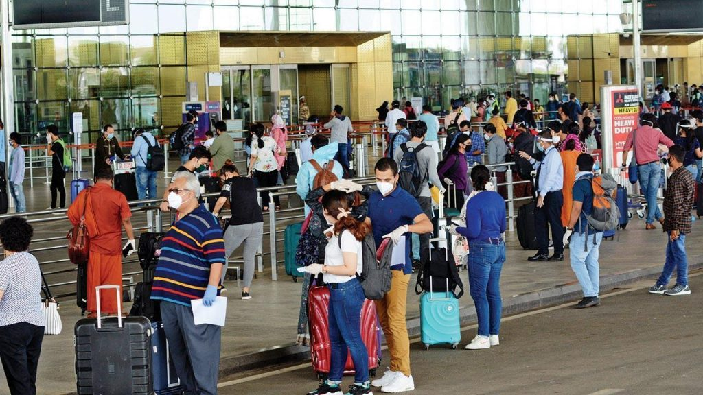 Air Passenger Traffic Surging Again   © Mid-Day