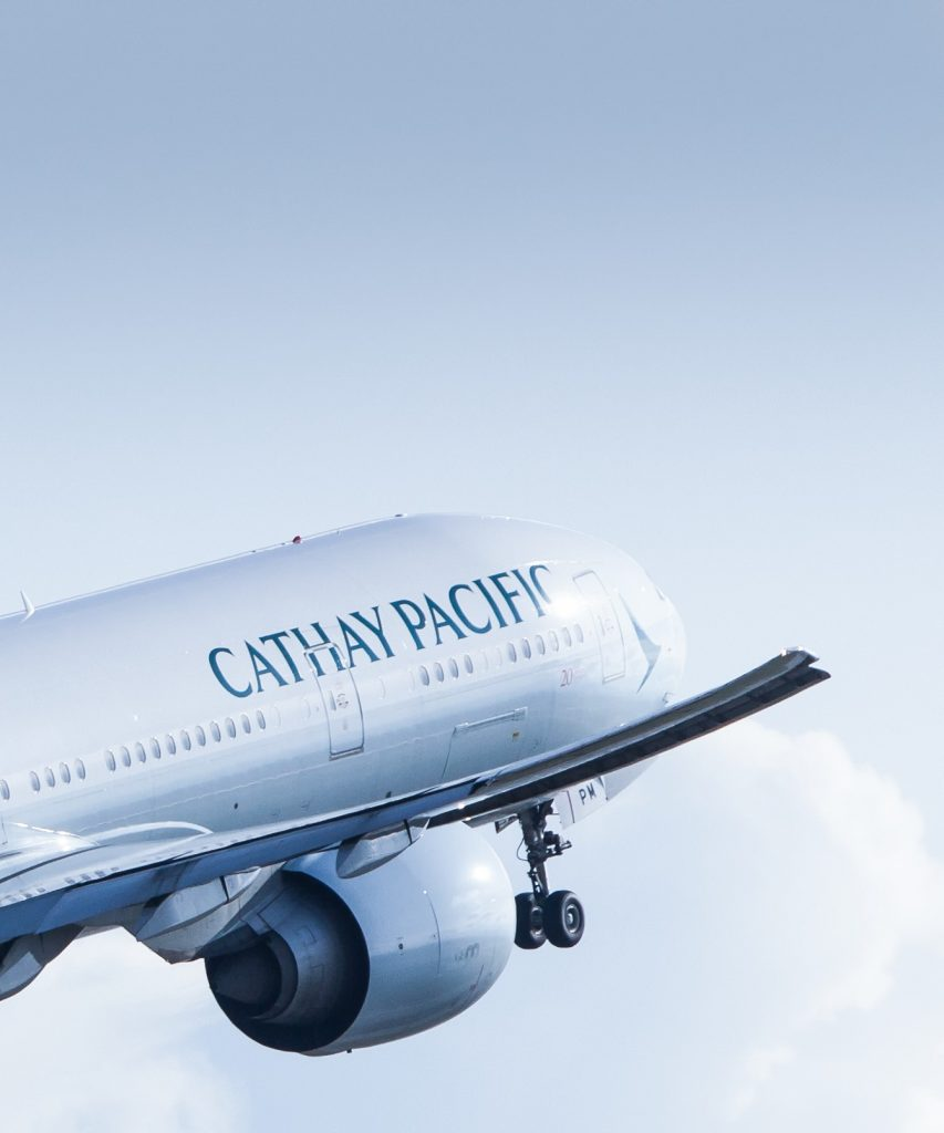 Cathay Pacific ©cathaypacific