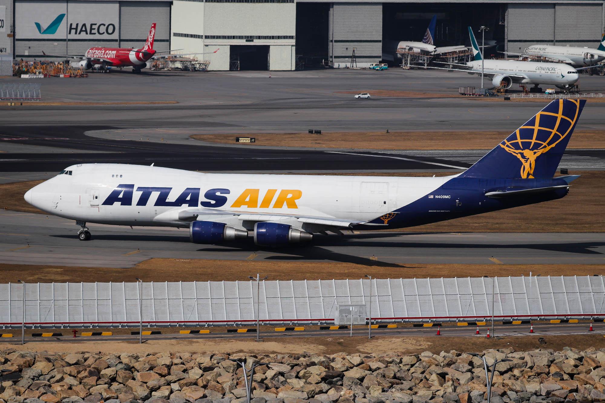 Atlas Air Cathay Pacific