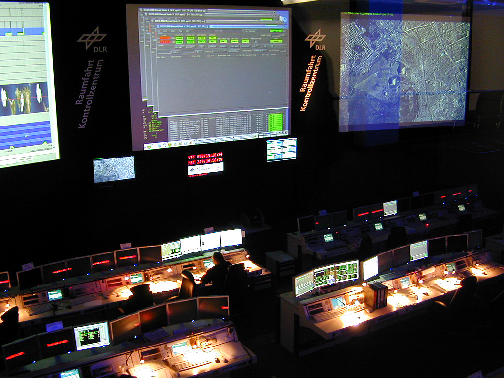 showing German Airspace Operations centre