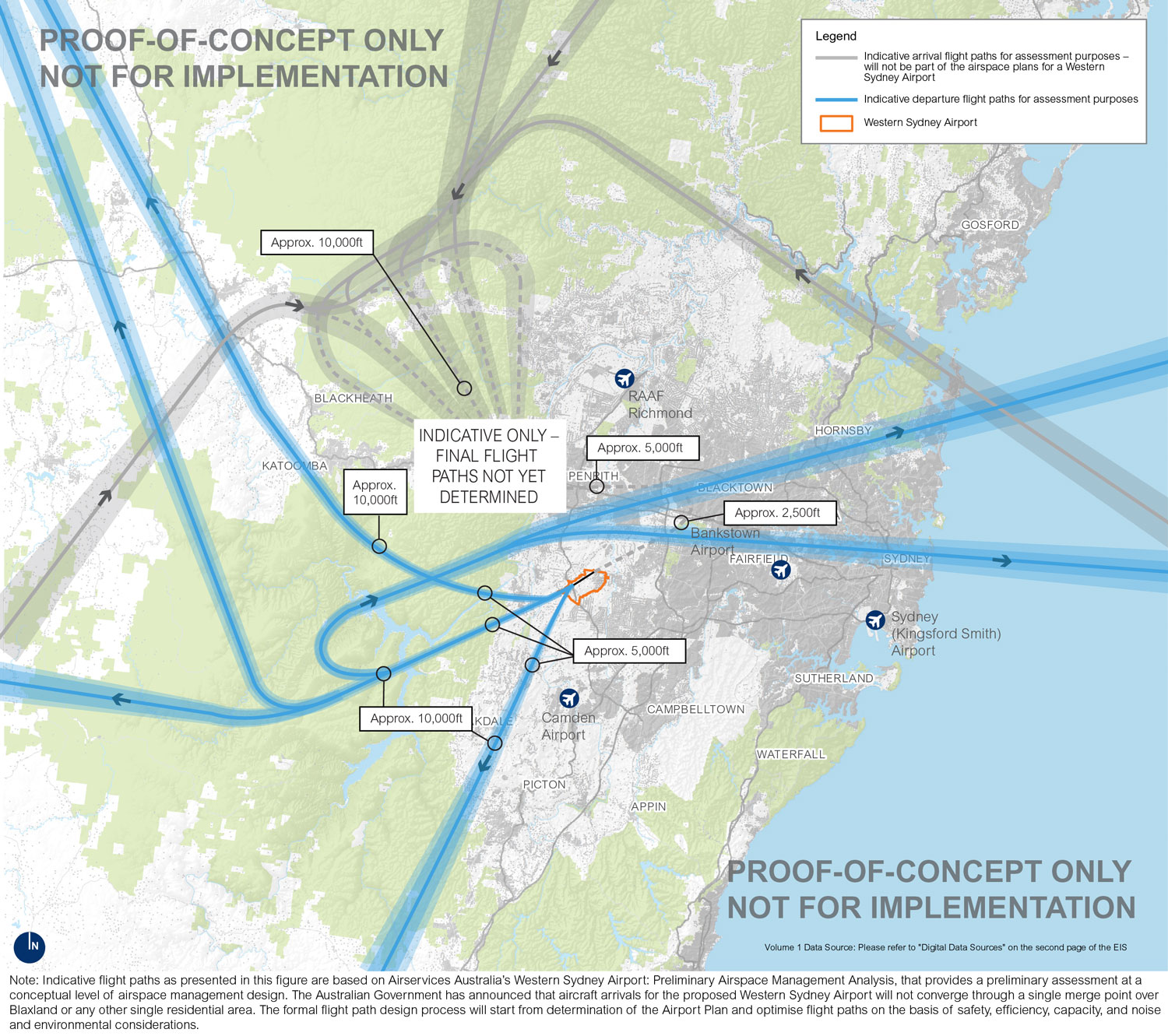 Flight paths at Sydney's newest airport are still in doubt as residents are becoming more frustrated.