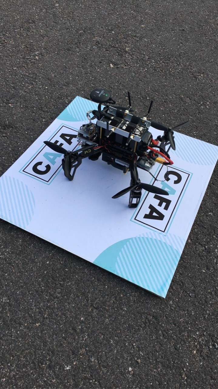 One of the drones