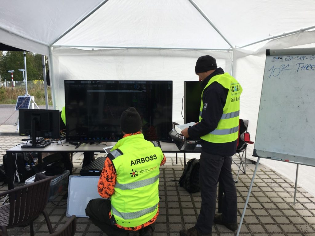 drone trial team