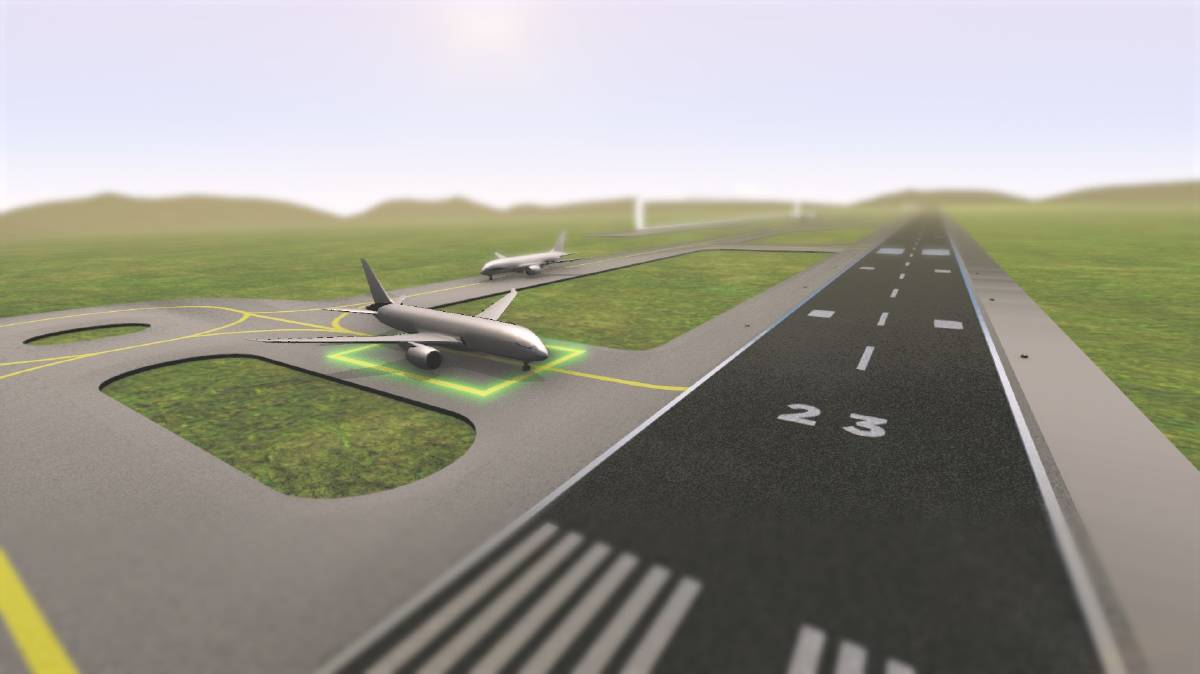 Artists impression of western sydney airport's new runway